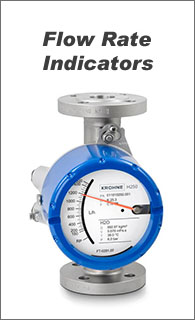 Flow Rate Indicators